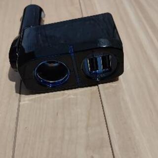 【ネット決済】車 シガーソケット USB付