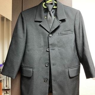 【ネット決済】男子 黒 フォーマルスーツ七分袖 130センチ