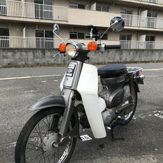 【ネット決済・配送可】スーパーカブ 50cc  スマホホルダー付き