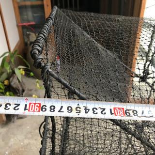 カニ カニ取り網 漁師 釣り