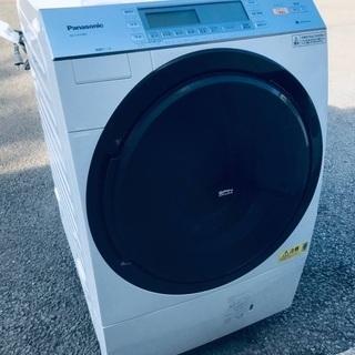 ♦️EJ1427B Panasonic ドラム式電気洗濯乾燥機...