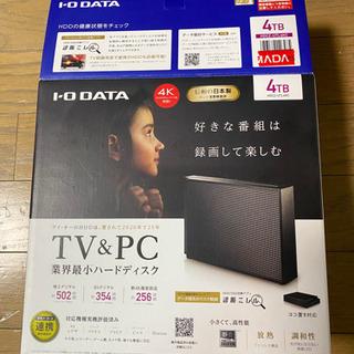 4TB ハードディスク未使用