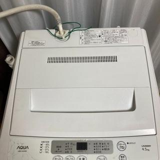 aqua 洗濯機 AQWs452