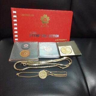アクセサリーとメダル