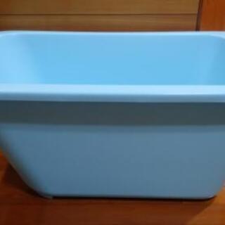 【ネット決済】簡易浴槽 サニージャンボバス 中古新同品 美品
