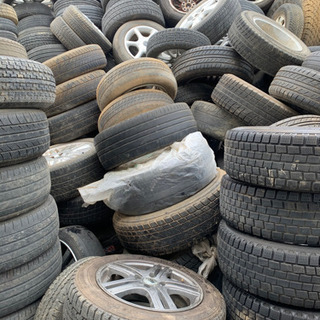 【ネット決済】アルミタイヤ  鉄タイヤ   2500円一本