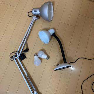 【ネット決済】IKEAのZライトとデスクライト: 50円