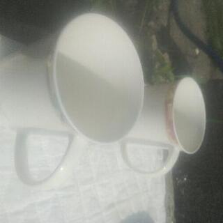 陶器のコップ×2
