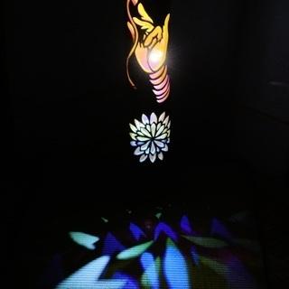 【ネット決済・配送可】竹ランプ 〜〜釈迦の手〜〜