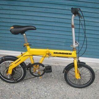 折りたたみ自転車 16インチ HUMMER   GM