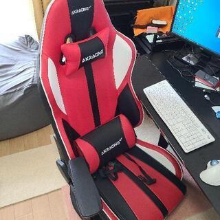 【ネット決済】【本日まで!】ゲーミングチェア(座椅子)引取り可能な方