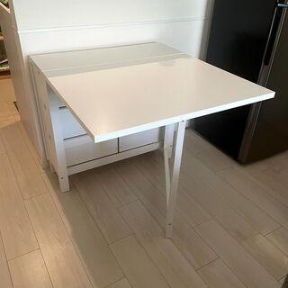 【ネット決済・配送可】IKEA Norden Dining Table
