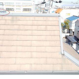 ドローンによる住宅の屋根の空撮致します。(土日祝)