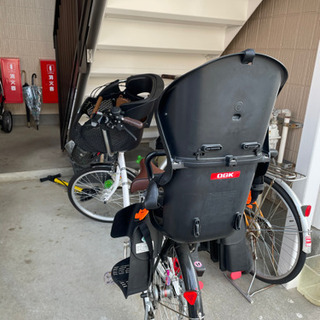 子供乗せ自転車「ママチャリ」
