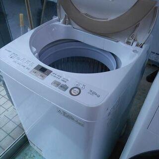 SHARP 2017年 7K洗濯機 - 家電