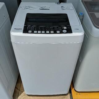 全自動洗濯機 ハイセンス HW-T55A 2017年製 5.5k...
