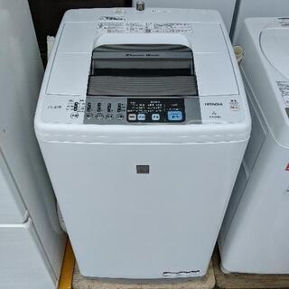 全自動洗濯機 日立 NW-Z79E3 2016年製 7kg【3ヶ...