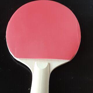 卓球 両面ラバーラケット1個