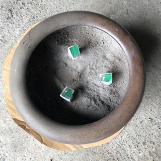 【ネット決済・配送可】USED 火鉢 瓶 壺!NO.7