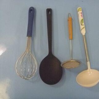 JM11416)調理器具 4点セット 中古品【取りに来られ…
