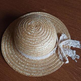 ほぼ未使用【52㎝】麦わら帽子