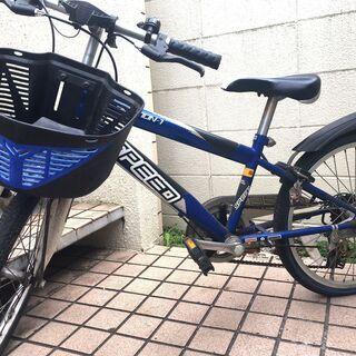 子供自転車 20インチ ブルー 中古