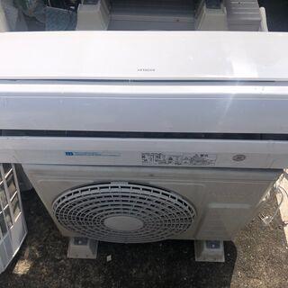 ◆日立 ルームエアコン 6畳程度 白くまくん RAS-R22B ...