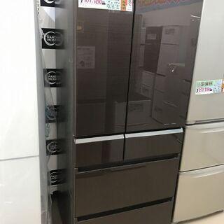 【引取限定】パナソニック 608L冷蔵庫 NR-F610PV 中...