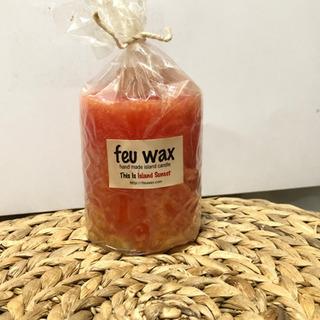 ★ feu wax ハンドメイド キャンドル ★