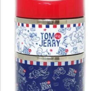 トムとジェリーランチボックス2段式 保温保冷 新品未使用未開封