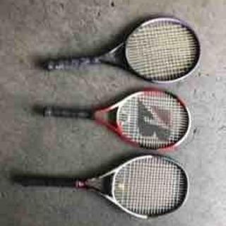 【ネット決済】0614-040 テニスラケット3本セット