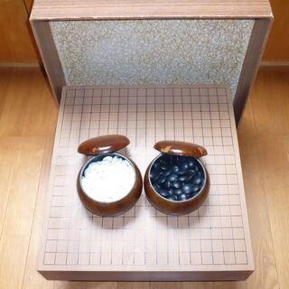 《断捨離》 中古 囲碁盤 駒のセット