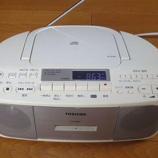 ラジカセ カセットテープ CD ラジオ FM/AM TY-CDS...