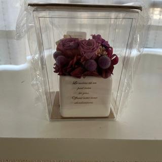 お花の置物
