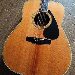 YAMAHA アコースティックギター。☆ よく鳴ります。