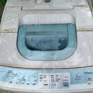 2011年式 HITACHI 洗濯機 5kg 動作確認済み!
