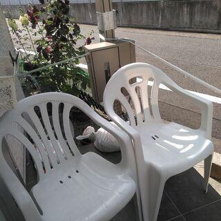 ガーデンチェアー2客 椅子 アウトドア