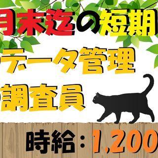 8月末迄の短期募集!時給1,200円!大手運輸企業でのお仕事 (...