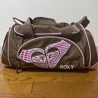 【ネット決済・配送可】ROXYボストンバッグ