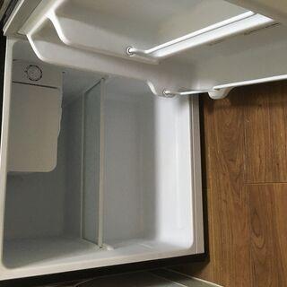 1ドア冷蔵庫(SP-46L1)色:ダークウッド お譲りします。