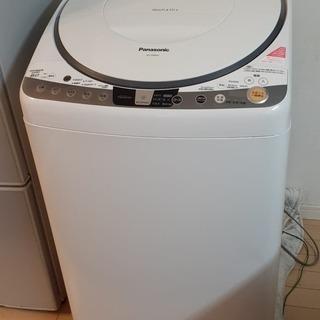 洗濯乾燥機 Panasonic 8k 2014