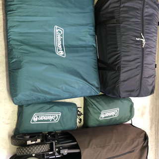 テント、シート、カートセット!!