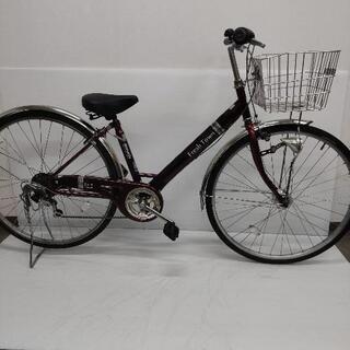丸石 シティ自転車 27インチ 6段変速