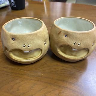 【ネット決済】加藤工芸 ポテトくん 湯のみセット