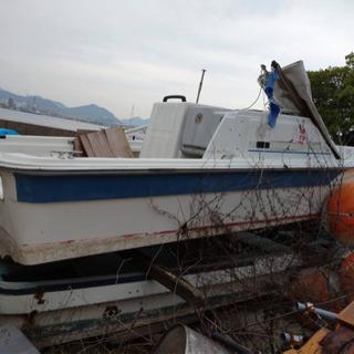 ボート 漁船 不動船 船外機 エンジン 引取り可能