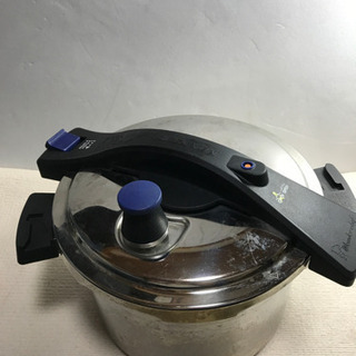 【ネット決済】圧力鍋 ワンダーシェフ 5.0l マクサス