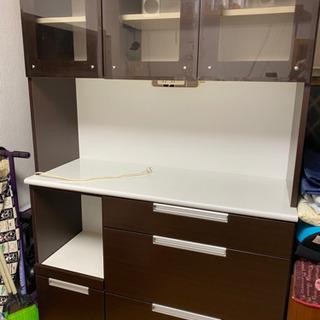 【ネット決済】キッチンボード 食器棚