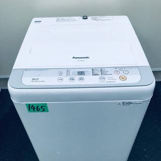 1465番 Panasonic✨全自動電気洗濯機✨NA-F50B...