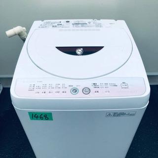 1468番 SHARP✨全自動電気洗濯機✨ES-GE60L-P‼️