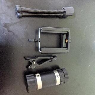 携帯用の望遠レンズです。
